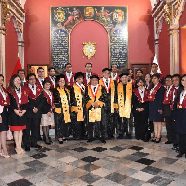 Graduados de Magíster