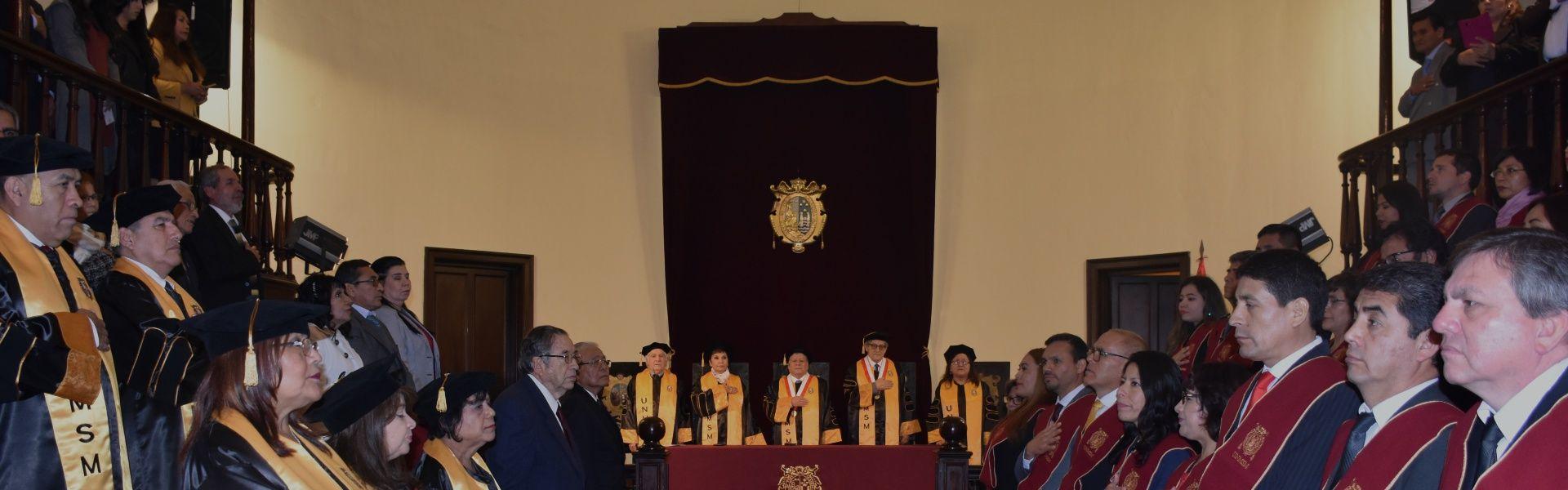 Ceremonia de Graduación y Titulación 2019